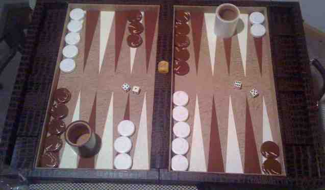 Crisloid Backgammon set